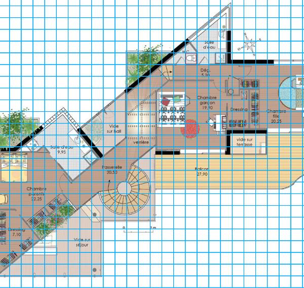 [Apprenti] Construire une maison un peu plus compliquée à partir d'un plan   430