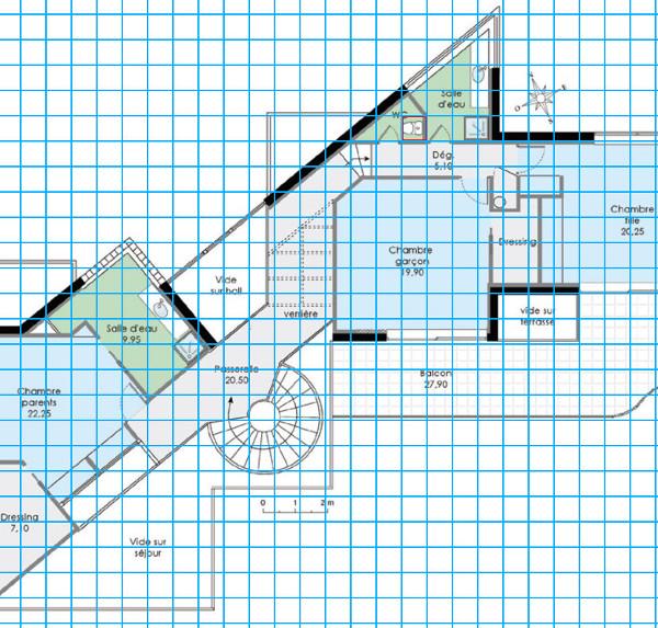 [Apprenti] Construire une maison un peu plus compliquée à partir d'un plan   529