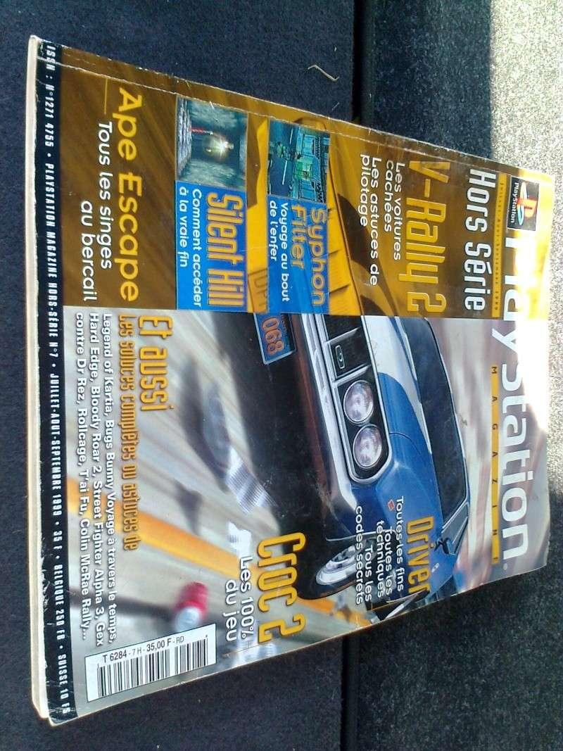 [VDS/ECH]PS1 - PS2 - MS2 - mini consoles - et autres - revue  et don  Photo018