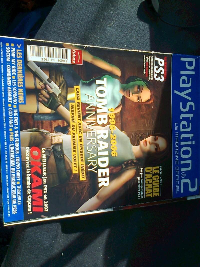 [VDS/ECH]PS1 - PS2 - MS2 - mini consoles - et autres - revue  et don  Photo019