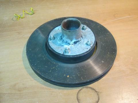 Drum brake forge 2013-017