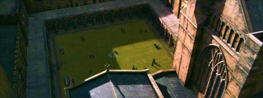 The Transfiguration Courtyard