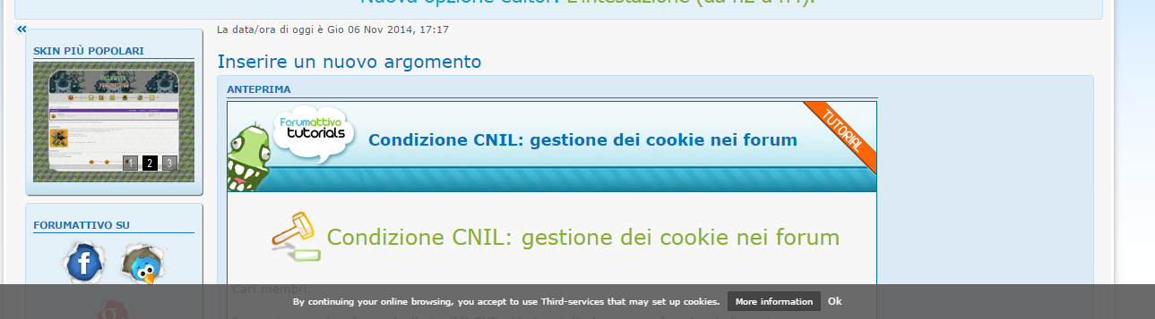 cookie - Condizione CNIL: gestione dei cookie nei forum Scr10