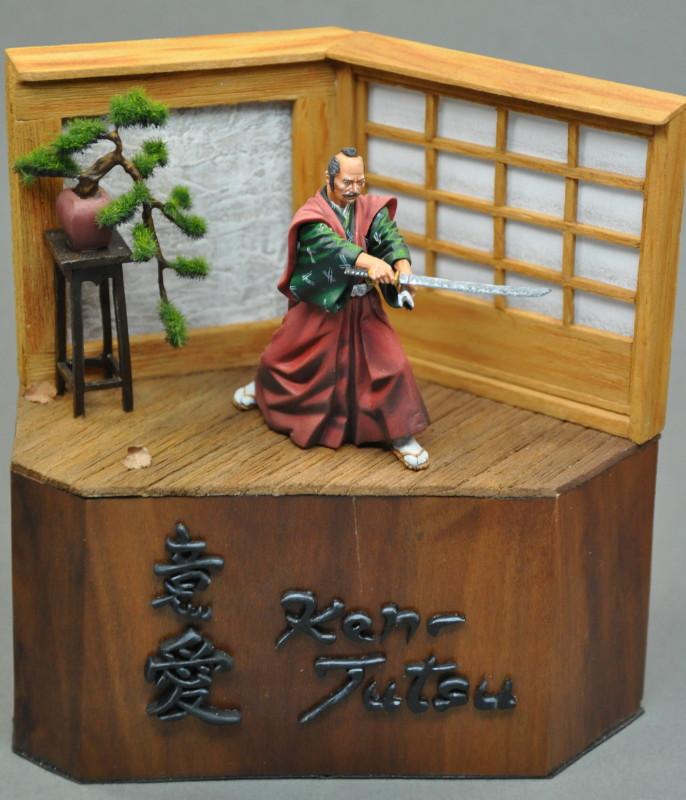 Kenjutsu, Samurai, Pegaso 54mm Dsc_0042