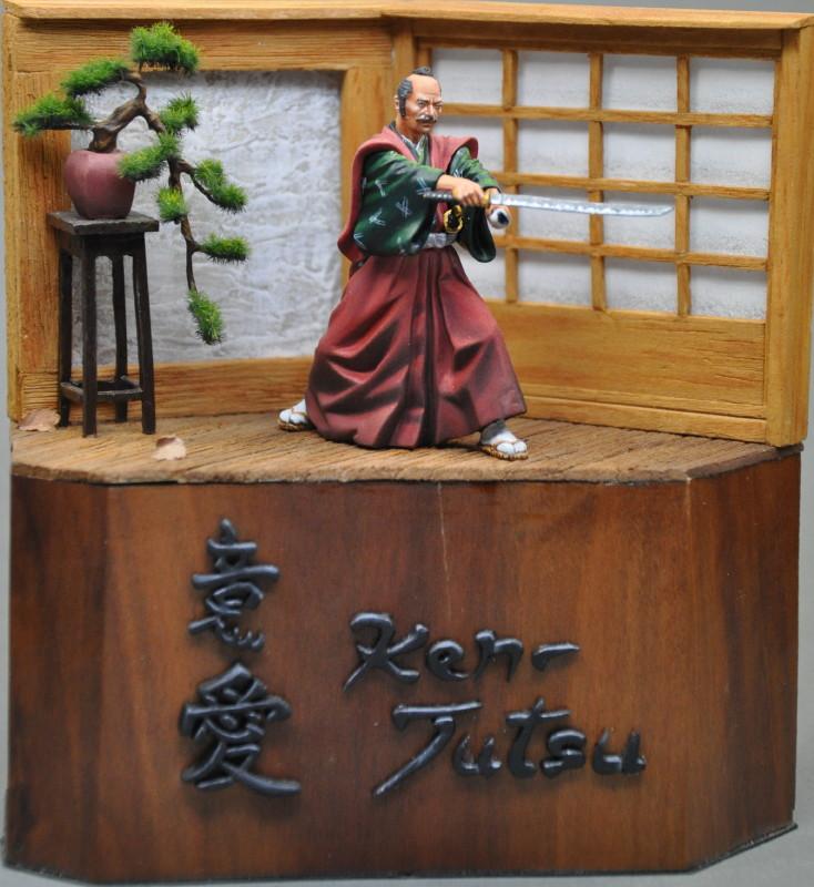 Kenjutsu, Samurai, Pegaso 54mm Dsc_0043