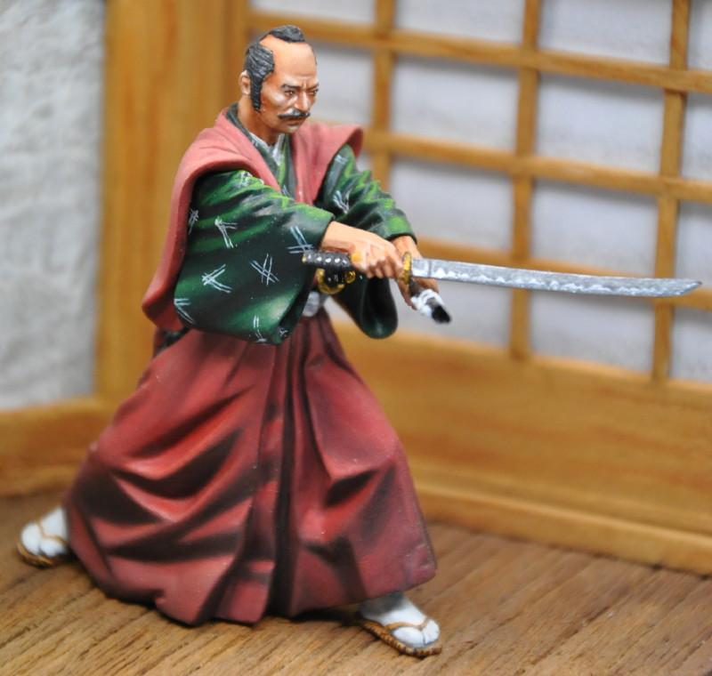 Kenjutsu, Samurai, Pegaso 54mm Dsc_0045