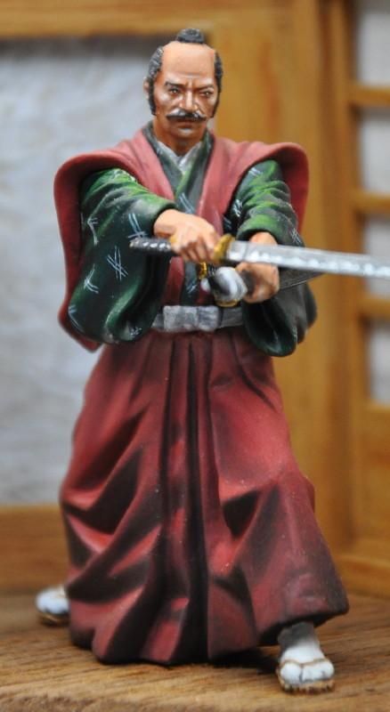 Kenjutsu, Samurai, Pegaso 54mm Dsc_0046