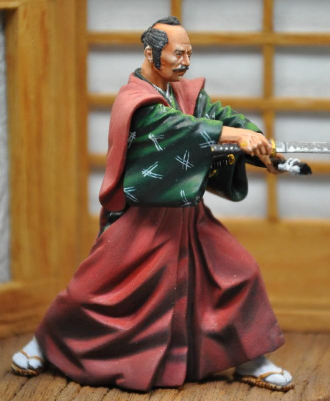 Kenjutsu, Samurai, Pegaso 54mm Dsc_0047