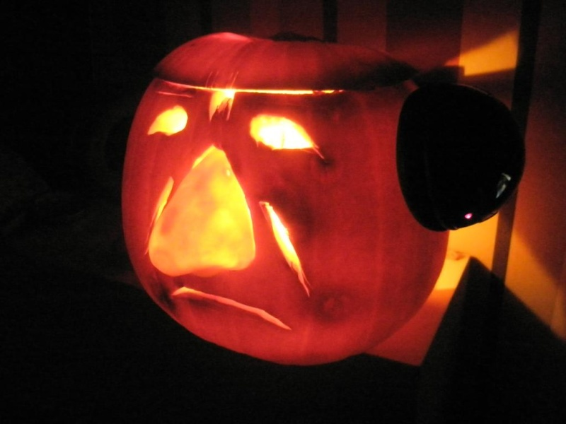 """The 2nd Annual """" TIG STAR WARS PUMPKIN CARVING CONTEST """" begins ... - Page 4 P1010011"""