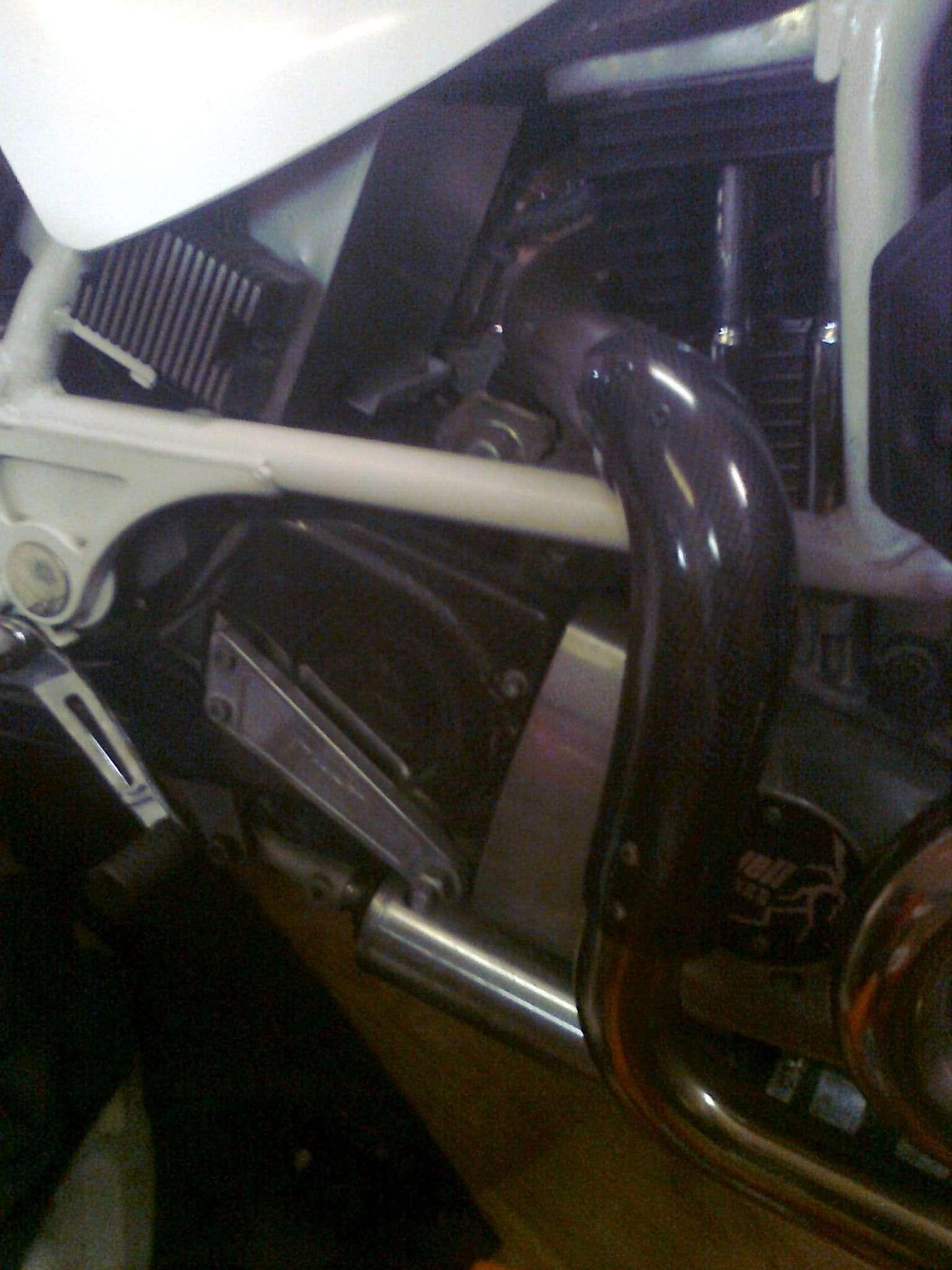 Pare-chaleur collecteut Buell S1 ligne RACE Parech10