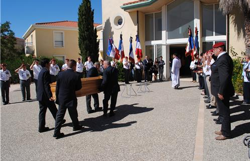 obsèques de Jean Bessac Bessac11