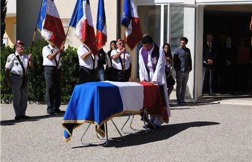 obsèques de Jean Bessac Bessac12
