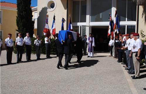 obsèques de Jean Bessac Bessac13