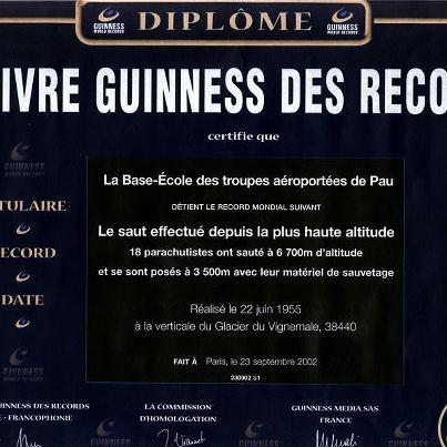 L' École des troupes aéroportées établissait un record du monde décrit à cette époque comme impossible Etap_r10