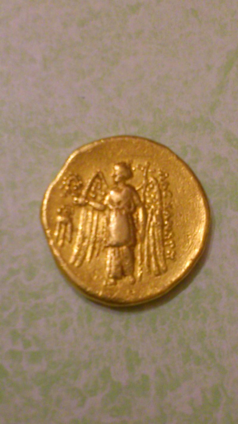 Avis sur 3 monnaies- Aéolis + 2 statères d'or séleucide 01314