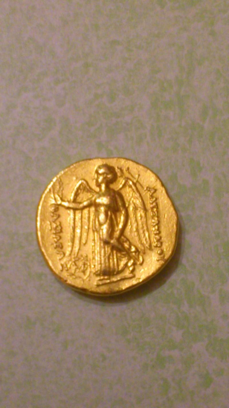 Avis sur 3 monnaies- Aéolis + 2 statères d'or séleucide 01711