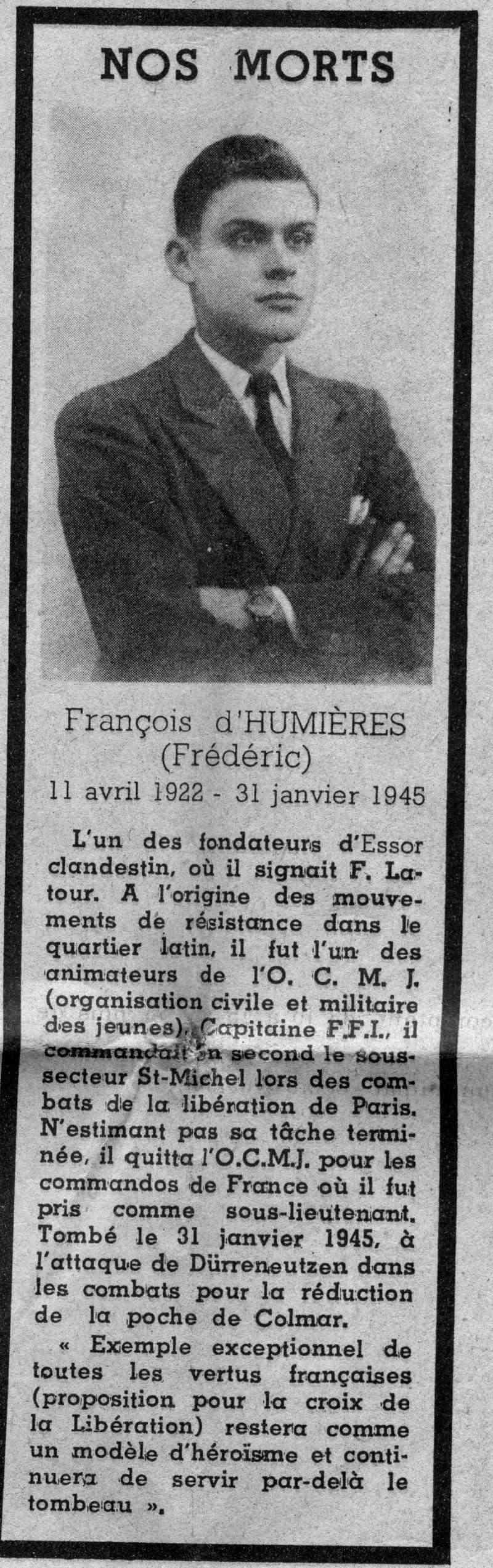 François d'HUMIERES File0133