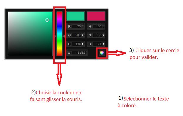 Comment mettre de la couleur à vos textes ? Couleu13
