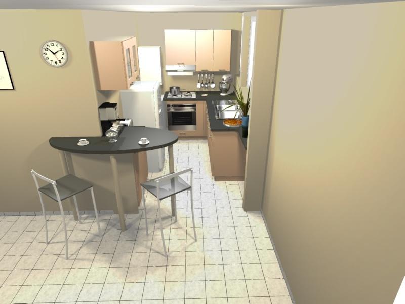 Déco pour la cuisine d'un studio Lastre31