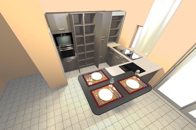 Conseil pour murs salon cuisine dans du neuf Lastre41