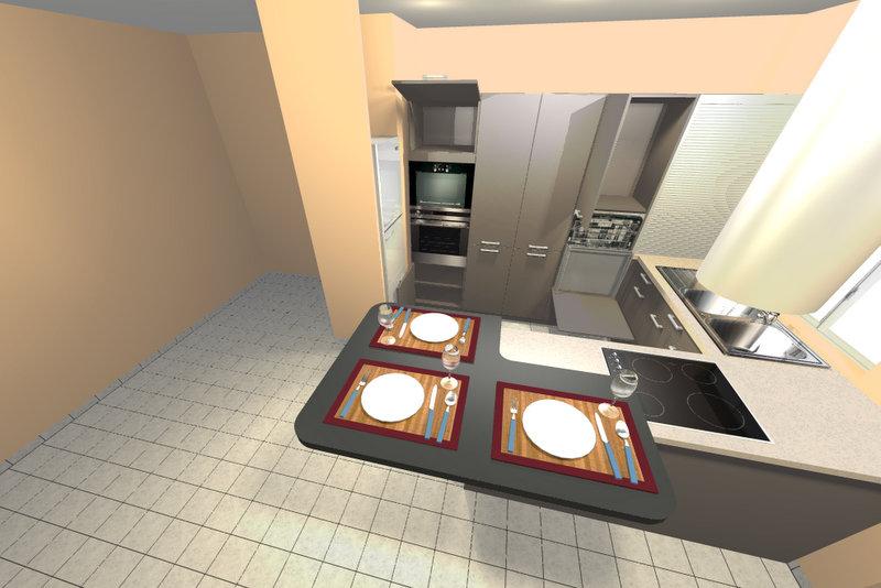 Conseil pour murs salon cuisine dans du neuf Lastre42