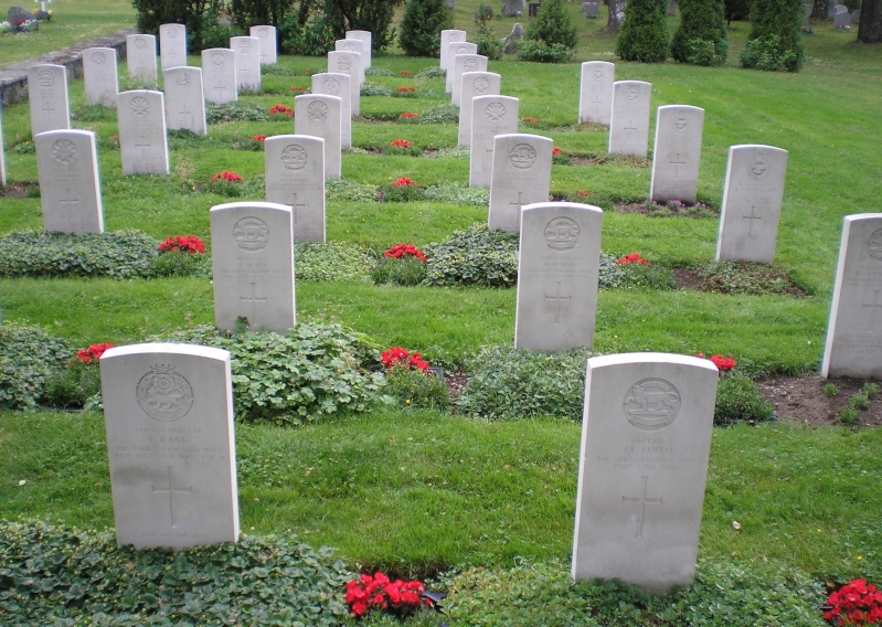 8th Bn Sherwood Foresters - Last stand at Tretten  Cwg_at10