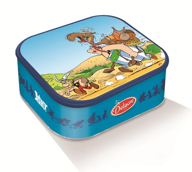 Nouvelles boites de biscuits Tea Time DELACRE Asterix chez les Pictes Delacr12