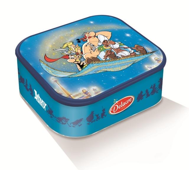 Nouvelles boites de biscuits Tea Time DELACRE Asterix chez les Pictes Delacr14