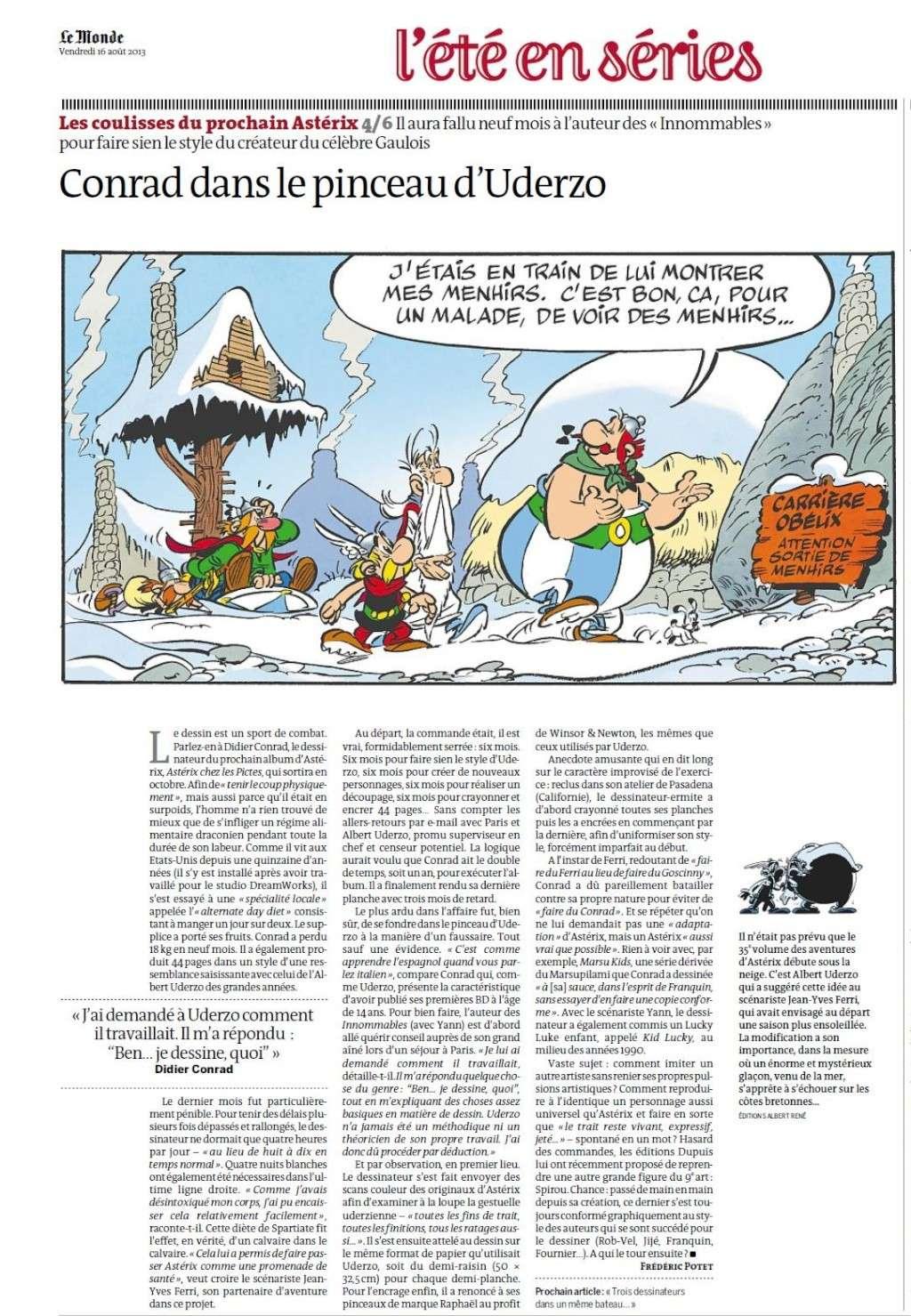 """""""Astérix chez les Pictes"""" Tome 35 (24 Octobre 2013)    Lemond16"""