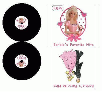 Petits trucs à imprimer et à coller pour Barbie  Barbie10