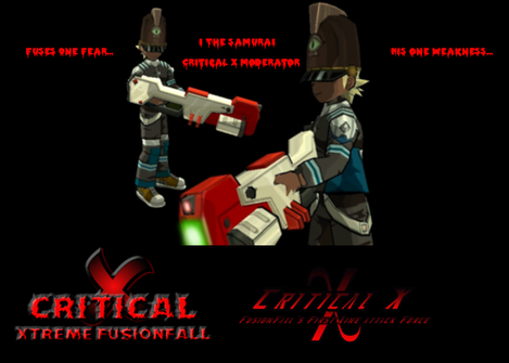 Full Information about C.L.Y.D.E Hunting and the TOM Fusionfall Gear. (Critical X) 20021311