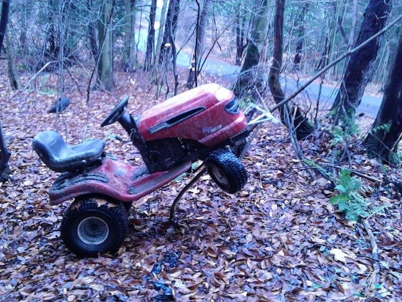 Project Craftsman mud mower Tracto16