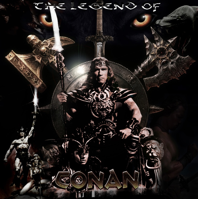 Conan The Barbarian.1982.Facebook Tribute. Hammer11