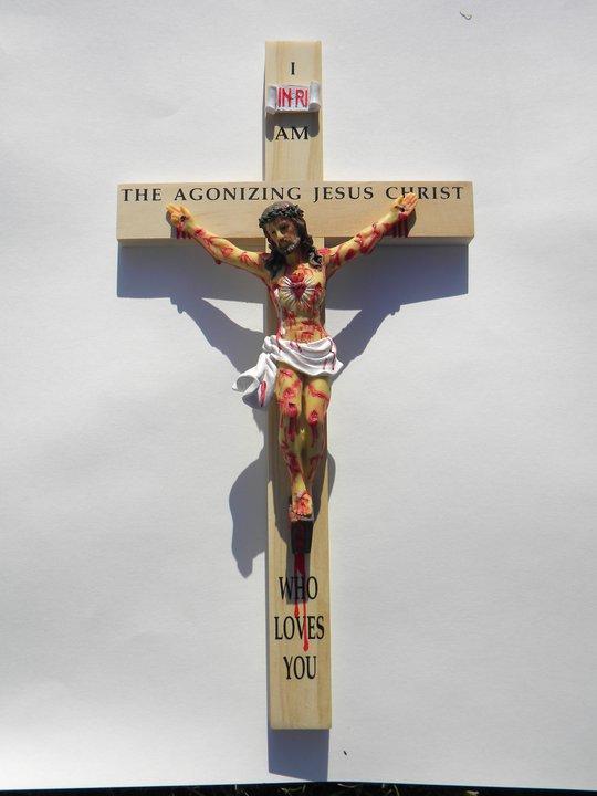 Elévation du Crucifix géant de Jésus Agonisant NIGERIA Barnabas Nwoye 20514910