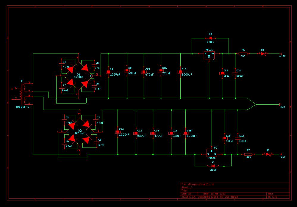 [Problème] alim symetrique de 12 volts Alimsy11