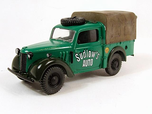 Austin Tilly ex-British Army Staff Utility Car. Dscf4211