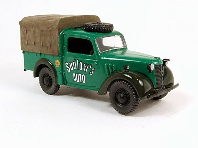 Austin Tilly ex-British Army Staff Utility Car. Dscf4212