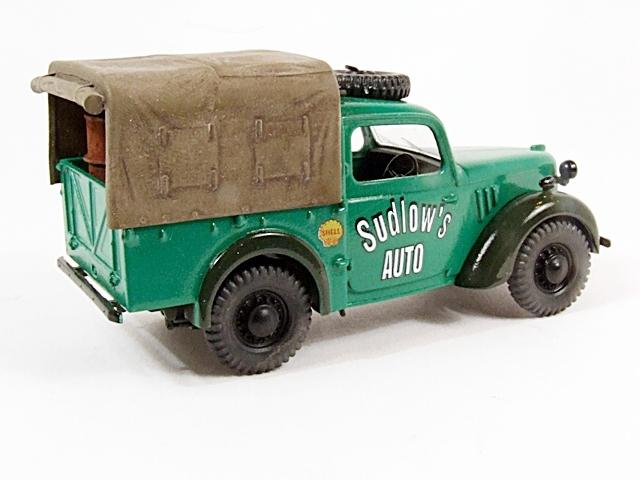 Austin Tilly ex-British Army Staff Utility Car. Dscf4213