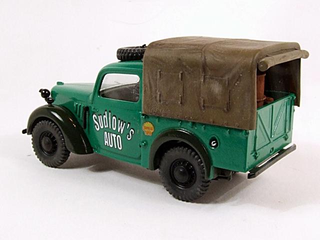 Austin Tilly ex-British Army Staff Utility Car. Dscf4214