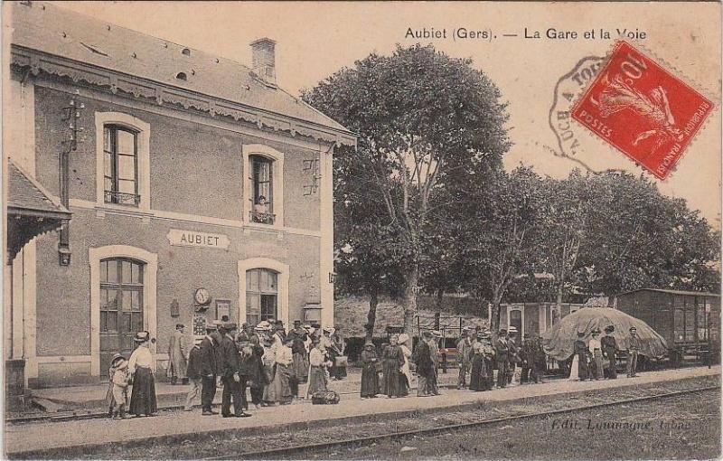 Photos 2012 : Ligne de Toulouse à Auch Aubiet13
