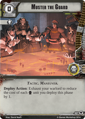 [Cycle Warlord] The Threat Beyond  - 5ème WarPack - Page 2 Muster10