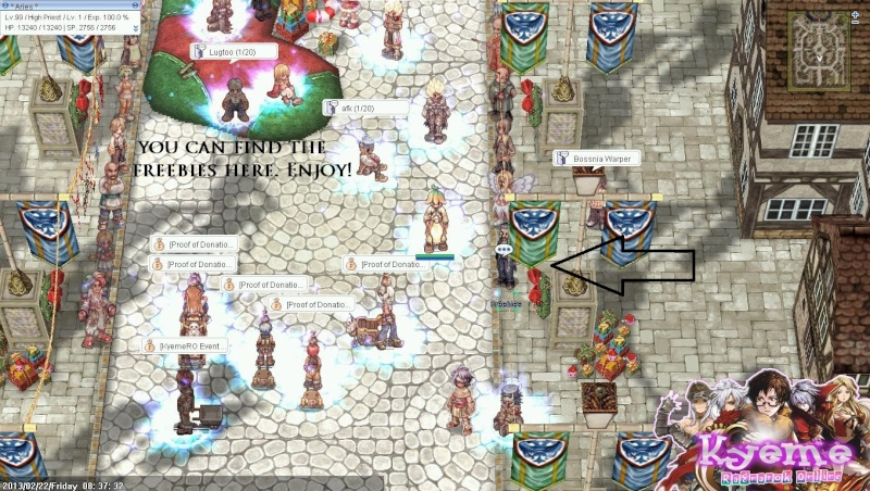 NPC GUIDES IN KYEME! Kyeme414
