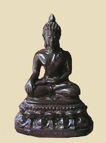 L'acier Magique bleu Lek Nam Pee  Statue11