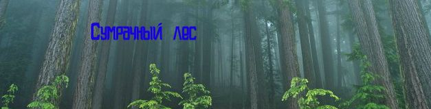 Сумрачный лес