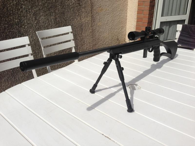 Ma Nouvelle Petite Mossberg 802 Plinkster 22LR en mode Sniper Img_1810