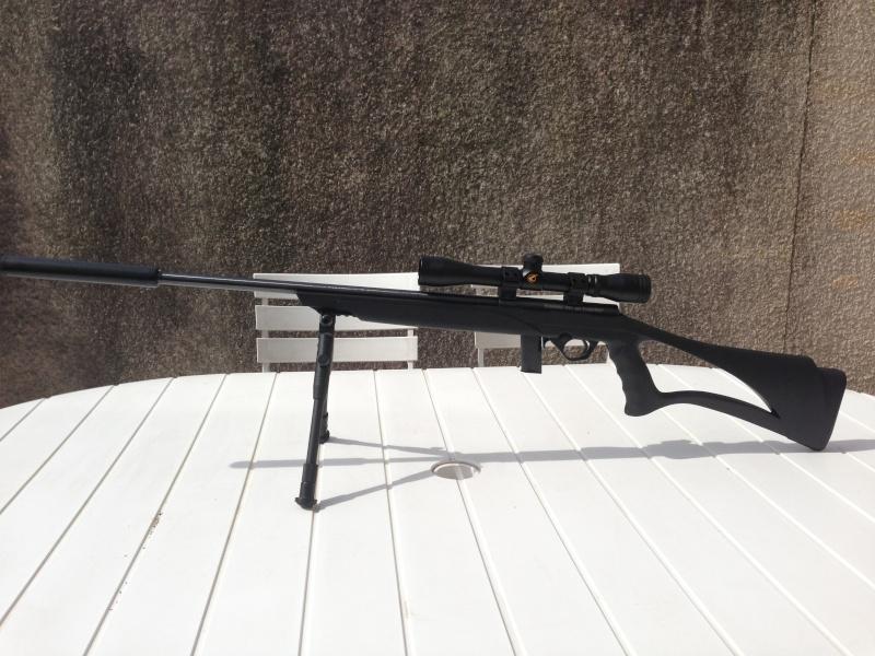 Ma Nouvelle Petite Mossberg 802 Plinkster 22LR en mode Sniper Img_1811