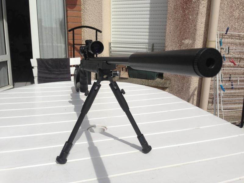 Ma Nouvelle Petite Mossberg 802 Plinkster 22LR en mode Sniper Img_1812