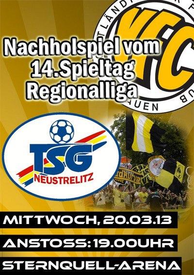 14.Spieltag VFC Plauen - TSG Neustrelitz Plauen10