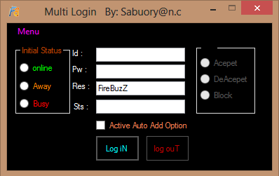 FireBuzZ Multi login ( source Code ) Firebu14