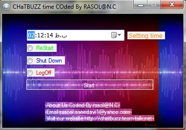 chatbuzz timer coded by rasol Timer10